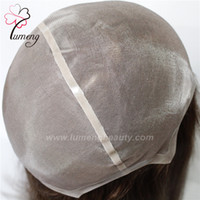 Wholesale Thin Lace Wigs - Popular and durable Mono lace with thin skin long hair replacement