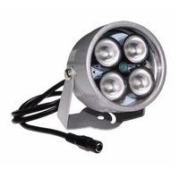 luces de vigilancia infrarrojas al por mayor-cctv 4 array IR led iluminador Luz CCTV IR infrarrojo visión nocturna para cámara de vigilancia