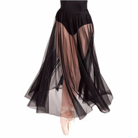 Wholesale Silver Girls Dance Skirt - Single One Layer Black Tulle Skirt For Dance Cheap Newest Girls Shopping Skirt New Custom Made Wedding Party Skirt Wedding Accessories