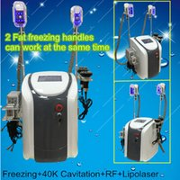 Wholesale Distributors Machines - free shipping portable lipo laser fat freezing slimming machine distributor from china cavitation rf slimming machine radio frequency device