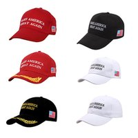 Wholesale Wholesale Hats Usa - 2017 Make America Great Again Donald Trump Hat Cap Republican hot fashion US Trump For President USA Hat