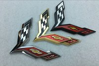Personalized Sticker Whole Body Cartoon 1 pcs 3D MetalZinc alloy Vehicles Corvette F1 FORMULA ONE GRANDPRIX Emblem Racing Trunk Badge flag logo car tail the Stickers
