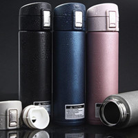 Vente en gros- Thermos CupThermo tasse à vide tasse en acier inoxydable bouteille thermos Thermos bouteille isolé gobelet voyage Thermocup Mugs à café