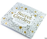 Wholesale Forest Animals Coloring - Hot PrettyBaby secret garden coloring book painting drawing book 24 Pages Animal Kingdom Enchanted Forest Relieve Stress For Children Adult