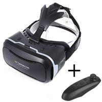 shinecon vr realidad virtual para smartphone al por mayor-Al por mayor-Nueva VR Shinecon II 2.0 casco de realidad virtual Gafas de cartón teléfono móvil 3D Video Movie para 4.7-6.0