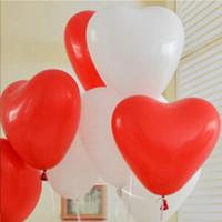 balões em forma de látex venda por atacado-1.2g Coração Em Forma de Balão De Látex Balão Multicolor Balão Festival Comemoração Decoração Brinquedo Bola Presentes Fontes Do Partido de Aniversário de Casamento