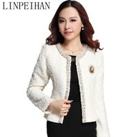 Wholesale Short Cardigan Buttons - Wholesale- chaquetas mujer 2015 women jacket Spring autumn wild female coats long-sleeved jacket cardigan women coat jaqueta feminina