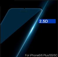 стальные настроения оптовых-Закаленное стекло пленка для iPhone7 Apple 6Plus стальная пленка 4.7 анти-отпечатков пальцев синий мобильный телефон мембраны