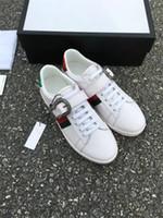 Wholesale Female Shoe Designers - 2017 Designer Summer Women and men Casual Shoes Female Breathable Mesh Shoes for Women's and men Soft Leather shoes Wild Flats