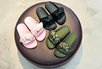 Wholesale Kids Slippers New - 2017 new version Puummma x Rihannaaaa-- Fenty Slide fently slipper kid shoes