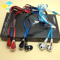 Wholesale Sms Audio Noise Cancel - mini 50 Cent Earphones SMS Audio Street by 50 Cent Headphone In-Ear Headphones Factory Price for Mp3 Mp4 Cell phone tablet