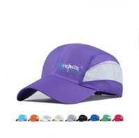 Wholesale Male Hiking Cap - Good A++ Spring and summer net hat hiking travel sun hat male and female anti - ultraviolet quick - duty baseball hat EMB139