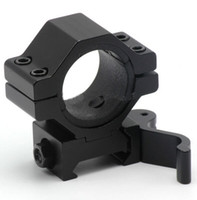 Wholesale Qd Flashlight Mount - 30mm 25.4mm 1inch Quick Release Scope Mount Ring Adapter 20mm Rail Weaver Picatinny Mounts QD Flashlight Laser Mount for Hunting