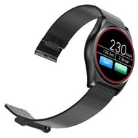N3 frequenza cardiaca intelligente Bluetooth Sport Watch Wristband Bracciale notifica di chiamata Pedometro allarme anti-perso Monitor sonno per iPhone 7 Plus Sam