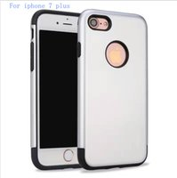 Wholesale Iphone 5g Protection Case - Armor Hybrid Case For iphone 7 plus 6 Plus 5G TPU PC Case 2 in 1 Phone protection shell Shockproof Rugged Back Cover