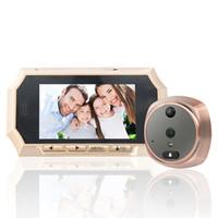 Wholesale Peephole Camera Motion - 4.3 Digital Peephole Viewer 160° Wide Angle Camera Doorbell PIR Motion Detection