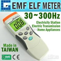 Wholesale Digital Gauss Meter - M0198191 Digital Single Axis Gaussmeter EMF ELF Sensor Magnetic Field Gauss Meter 30~300Hz MADE in TAIWAN