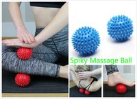 Yoga Point Massage Ball Spiky Massage Ball Stress Relief Pied Arm Neck Back Body Massage Trigger Roller Aide Circulation sanguine