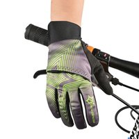 Wholesale Bicycle Winter Gloves Waterproof - DHL High Quality 3 Colors Bike Bicycle Winter Waterproof Touch Screen Fleece Warm Gloves Windproof Cover Professional Cycling Gloves