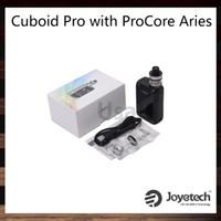 zoll tft display großhandel-Joyetech Cuboid Pro mit ProCore Widder Kit 200W 2,4 Zoll TFT Farbdisplay Touchscreen Mod 2ml Flip-Top-offene Füllsystem 100% Original