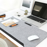 Wholesale Wholesale Desk Organizers - Wholesale-Felts Office Table Mat Desk Storage Organizer Pad Wholesale Bulk Lots Accessories Supplies Gear Items Stuff Products