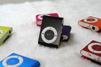 Wholesale Yellow Speaker - TF card iron clip music player metal iron clip MP3