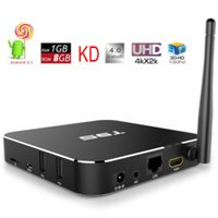 T95 android 6.0 2017 mais barato atacado ott KD set top box pode jogar hd sexo video caixa de TV inteligente 10 / 100M / 1000M ethernet