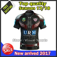 Wholesale Iron Eagles - 2017 New Zealand rugby Jersey Newcastle Knights Iron Patriot Brisbane MANLY SEA EAGLES 17 18 Rugby jersey MAN JERSEY