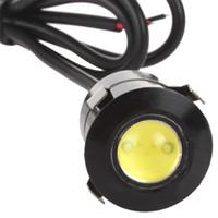 Wholesale Door Lighting 7w - 12V 7W Reversing Sensor Laser Eagleyes Car Door Light LED Waterproof DRL for Toyota for Renault for Opel CEC_442