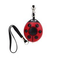 Wholesale Personal Key Chains - Alarm Keychain 120dB Self-defense Personal Alarm Siren Key Chain Purse Decoration Emergency Rape Attack Safety Protection for Kids,Girl