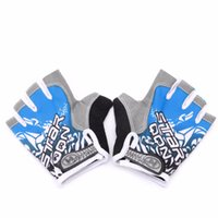 Wholesale GEL Cycling Gloves Bike sport Gloves Bicycle Half Finger Gloves shockproof