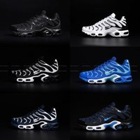 Unisex outdoor fabric material - 2017 TN Air Shoes Mens High Quality Running Shoes TN Nanotechnology KPU Material Classical Durable Air Sport Shoe Sneakers