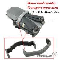Wholesale Mask For Motor - Wholesale- 2pcs 3D Printed Motor Clip Blade Holder Bracket Propeller Fixator Transports Protection Holder Fuselage Clasp for DJI Mavic PRO