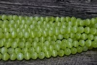 Wholesale Orange Beads 6mm - 6mm round beads,Free shipping!A grade cats eye glass loose beads,1.0mm,Red DK orange Lt Orange Royal DK Powder Forest Green Mint Lime Yellow