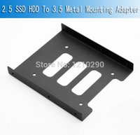 Wholesale ssd mounts for sale - Group buy SSD HDD To Metal Mounting Adapter Bracket Dock For PC SSD Holder