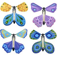 Nouveau Magic Butterfly Flying Butterfly Change avec mains vides Freedom Butterfly Magic Props Magic Tricks CCA6799 200pcs