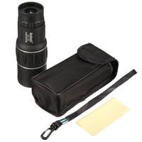 objectif achat en gros de-Télescope monoculaire Zoom Objectif Kit de lentilles de caméra Vision nocturne Définition Dual Focus Scope pour Kid Iphone Camping Accessoires de montage de téléphone