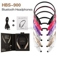 Wholesale High Quality Usb Headset - HBS-900 Hifi stereo bluetooth wireless Sports Earphone headphone Stereo In-ear Tone+ neckband High quality headset for iphone7