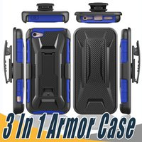 Wholesale Iphone Swivel Cases - Hybrid Defender Armor Case Kickstand+Swivel Belt Clip Holster Cover For Coolpad Catalyst 3622A Nokia Lumia 435 640 Huawei Union Y538 Nexus