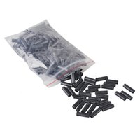 Bicyclettes Derailleur Shift Câble Caps de finition Core Inner Wire Ferrules 500PCS Cycling Mountain Bike 4mm / 5mm Brake Cable Tips Crimps 2505044