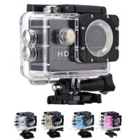 Wholesale Underwater Waterproof Camera - Waterproo A7 Sport Cam HD 1080P Helmet Sports DV Video Car Cam DV Action Waterproof Underwater 30M Camera Camcorder for Diving Surfing
