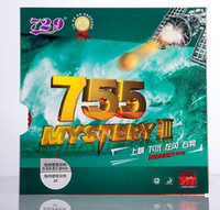 ingrosso best table tennis rubbers-La migliore gomma da tennis da 729 Friendship con spugna 755 Mystery III table tennis