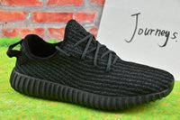 buy hot-hot - 2017 Wholesale Discount Cheap Onine Y Boost 350 Sneakers Kanye Milan West Running Shoes for Men Women Fashion Trainers Shoes With Box