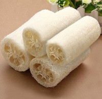 Wholesale Wholesale Spa Sponge - Wholesale-2015 New Direct Selling Loofah Bath Luva Novel Durable Natural Loofa Luffa Bath Shower Wash Bowly Body Scrubber Spa ~1pc K6517