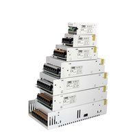 Wholesale Dc 24v Switching Power Supply - MJJC 12W 24W 60W 100W 120W 150W 200W 360W 400W Switching LED Power Supply 12 volt 24V DC for 3528 5050 5630 3014 7020 LED Strip Lights