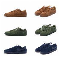 Wholesale White Blazer Cheap - 2016 Fashion BLAZER LOW PRM VNTG Running Shoes Men Women Ancient retro Cheap Walking Boots Men Women Sport Shoes Size US5.5-10