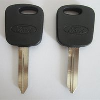 Wholesale Transponder Key For Wholesaler - 10pcs lot for Ford Escape Transponder Key Shell (can install chip) S42