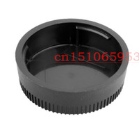 Wholesale dslr lens cover resale online - Rear Lens Cap Cover for All Nik0n AF AF S DSLR SLR Camera LF Lens lens camera D90 D3200 D5100 D7100 D3100 With tracking