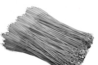 Stainless Steel Straw Cleaning Brush Nylon Straw Cleaners Cleaning Brush for Drinking Pipe Stainless Steel Glass