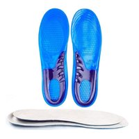 Wholesale Large Women Shoes Wholesale - Large Size Orthotic Arch Support Massaging Silicone Anti-Slip Gel Soft Sport Running Shoe Insole Pad For Man Women Shoes Accessories ZA1610